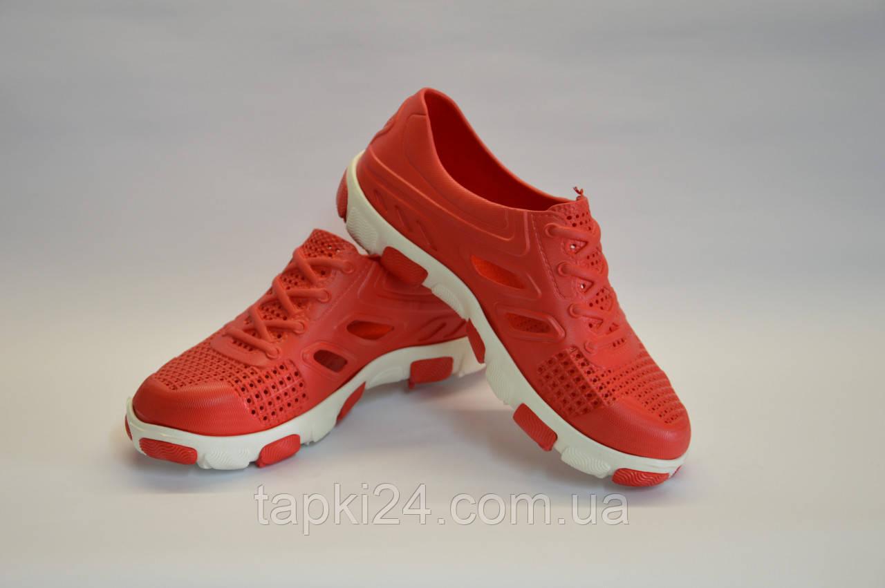кроссовки подростковые пенка оптом (красные), фото 1