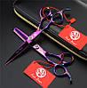 """Профессиональный набор парикмахерских ножниц для левши Dragon 6.0"""""""