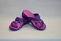 Шлепанцы женские фиолетовые