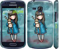 "Чехол на Samsung Galaxy S3 mini Девочка с зайчиком ""915c-31"""