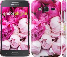 "Чехол на Samsung Galaxy J5 J500H Розовые пионы ""2747c-100"""