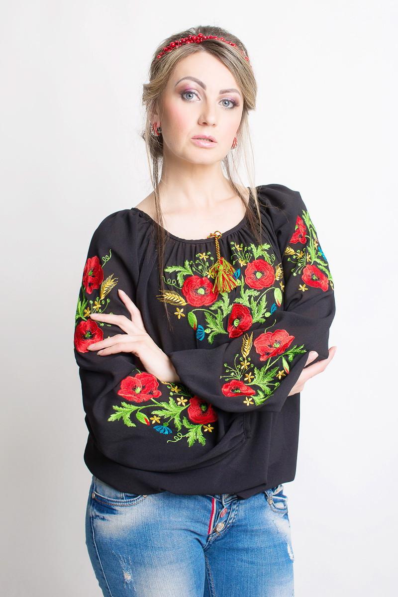 Женская вышитая блуза Код б291