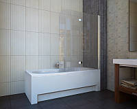 Шторка на ванну Koller Pool QP97 clear L/R 115х140 см, фото 1