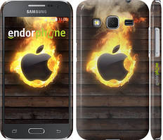 "Чехол на Samsung Galaxy J5 J500H Apple fire ""1292c-100"""