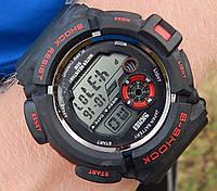 Кварцевые спортивные часы Skmei (black-red) - гарантия 6 месяцев