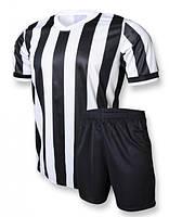 Футбольная форма игровая Europaw club (черный\белый)