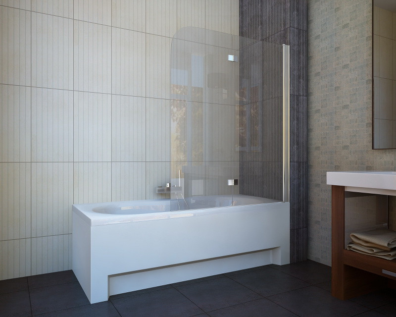 Шторка на ванну Koller Pool QP97 grape L/R 115х140 см