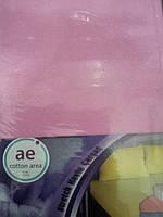 Махровые простыни на резинке + 2 наволочки 50*70  COTTON AREA