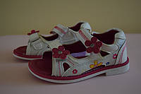 Босоножки сандалии на девочку 25 размер. Детская летняя обувь. Обувь для девочки лето