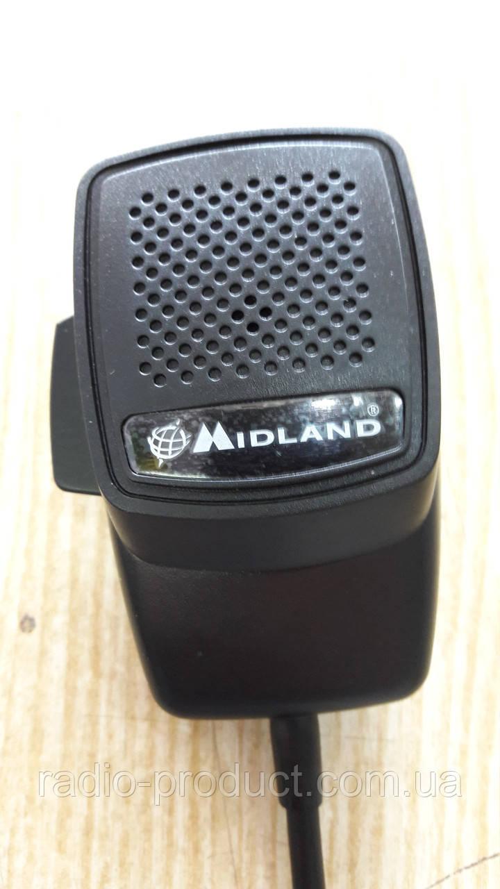 Тангента, микрофон для Midland Alan 100+/199A 5pin