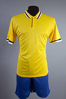Футбольная форма игровая Europaw club (желтый\синий)