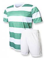 Футбольная форма игровая Europaw club (зеленый\белый)