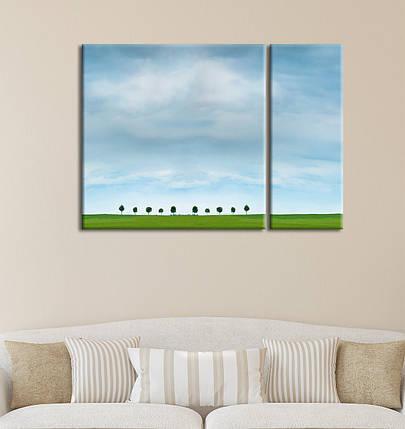 "Модульная картина ""Ясное синее небо"", фото 2"