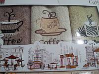 Махровые полотенца в красивой подарочной коробке