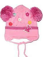 Детская шапочка (Бледно розовый)