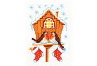 """Набор для вышивки крестом """"Снегири"""""""