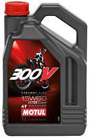 MOTUL 300V 4T FACTORY LINE OFF ROAD 15W60, 4 л