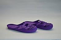 Шлепанцы женские в Украине оптом ПЖ - 17 фиолетовые, фото 1