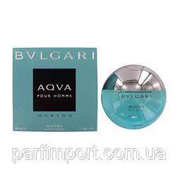 Bvlgari AQUA Marine edt 100 ml туалетная вода мужская (оригинал подлинник  Италия)