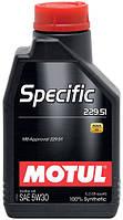 Масло моторное MOTUL SPECIFIC 229.51 5W30, 1 л