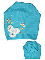 Детская шапочка (Бирюзовый)
