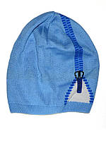 Детская шапочка (Ярко голубой)