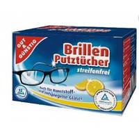 G&G салфетки для чистки очков 52 шт.(Германия)