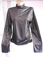 Водолазка женская чёрная большой размер