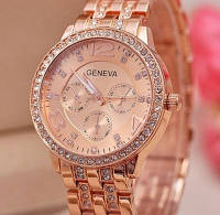 Часы Geneva (rose gold)