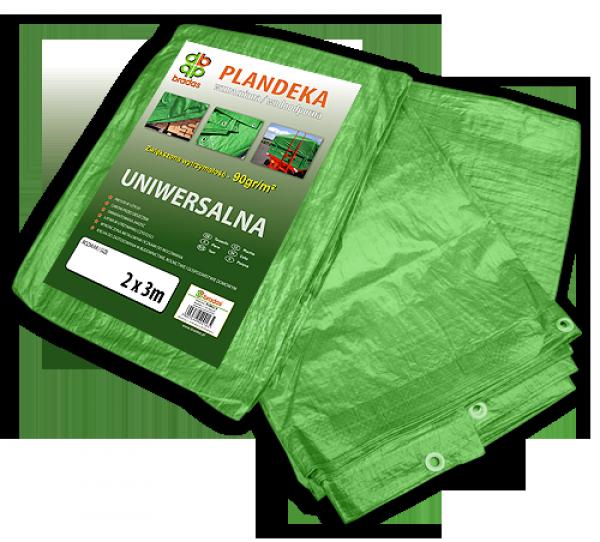 Тент 8х10м 90 гр/м. кв. (тарпаулін) водонепроникний з поліпропілену пр-під Польща ТМ Bradas Green
