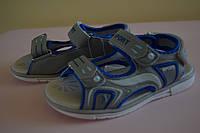 Босоножки сандалии на мальчика 26 размер. Детская летняя обувь. Обувь для мальчика