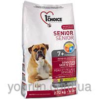 1st Choice (Фест Чойс) Senior All breed всех пород старше 7 лет (ягненок и рыба) 2.72кг
