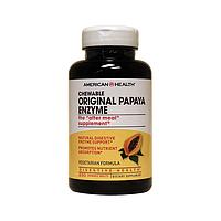 Жевательные папайя энзимы / Chewable Original Papaya Enzyme, 250 жевательных таблеток