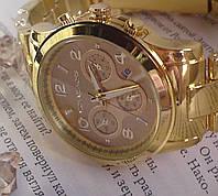 Женские наручные часы (gold)