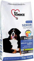 1st Choice SENIOR MEDIUM & LARGE Breeds- корм для стареющих собак средних и крупных пород 7кг