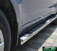 Защита боковых порогов (ступенька) на Mercedes Vito