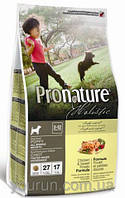 Корм для щенков Pronature Holistic (Пронатюр Холистик) Chicken & Sweet Potato - Курица / Батат 2.72кг