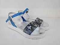 Босоножки 5722-56153-8354 37 голубые, фото 1