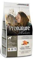 Корм для собак Pronature Holistic (Пронатюр Холистик) Turkey & Cranberries - Индейка / Клюква  2.72кг