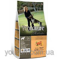 Корм для собак Pronature Holistic (Пронатюр Холистик) Duck & Orange - Утка / Апельсин 2.72кг