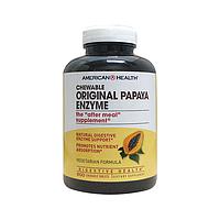 Жевательные папайя энзимы / Chewable Original Papaya Enzyme, 600 жевательных таблеток
