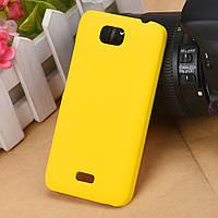 Пластиковый чехол для Huawei Ascend Y5c желтый