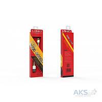 USB кабель LDNio Micro USB flat 2.1A White (LS12)