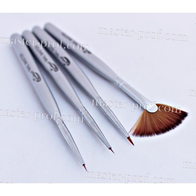 Набор кистей для рисования Zinat 4 шт