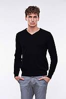 Мужской свитер (пуловер) (Черный)