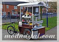 Вело-кофейня с электроприводом