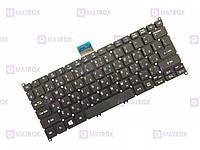Оригинальная клавиатура для ноутбука Acer Aspire V3-112P, Aspire V13-331, Aspire V13-371 series, black, ru