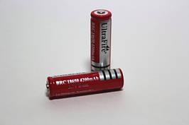 Аккумулятор(АКБ) BRC-18650  UltraFire 3,7 вольт 4200 мА/ч.Для фонарей.