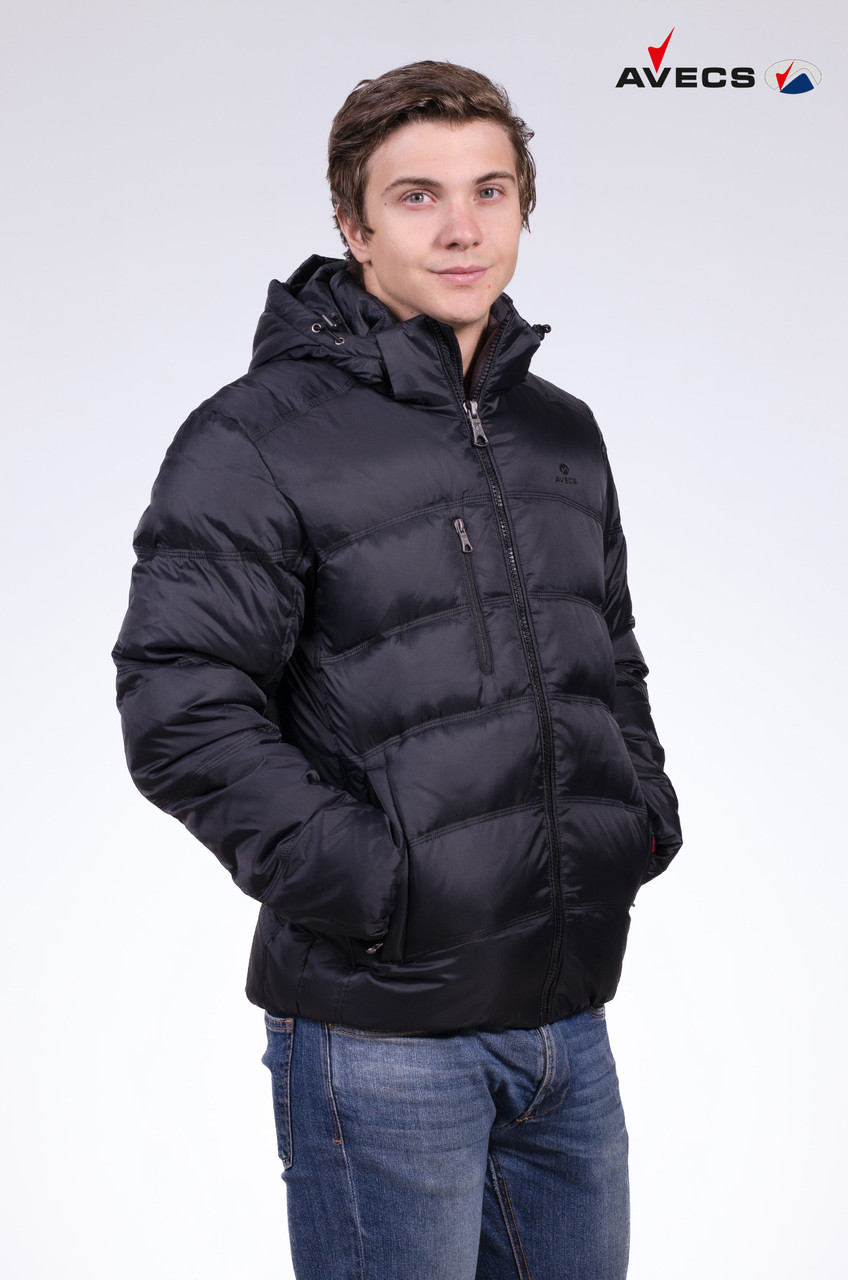 Куртка мужская пуховик зимняя Avecs Размеры 48