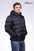 Куртка мужская пуховик Avecs AV-879 Black Авекс Размеры 46 48 50 52
